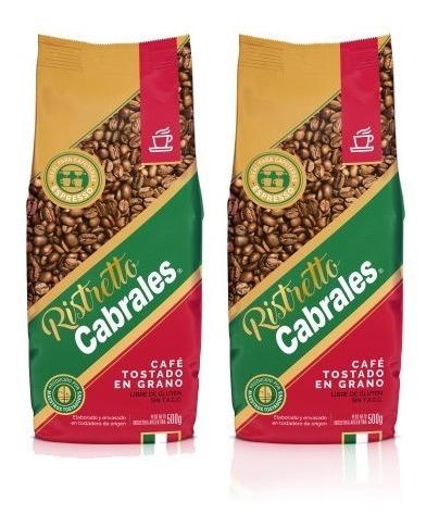 cafe grano cabrales ristretto 1kg expresso tostado