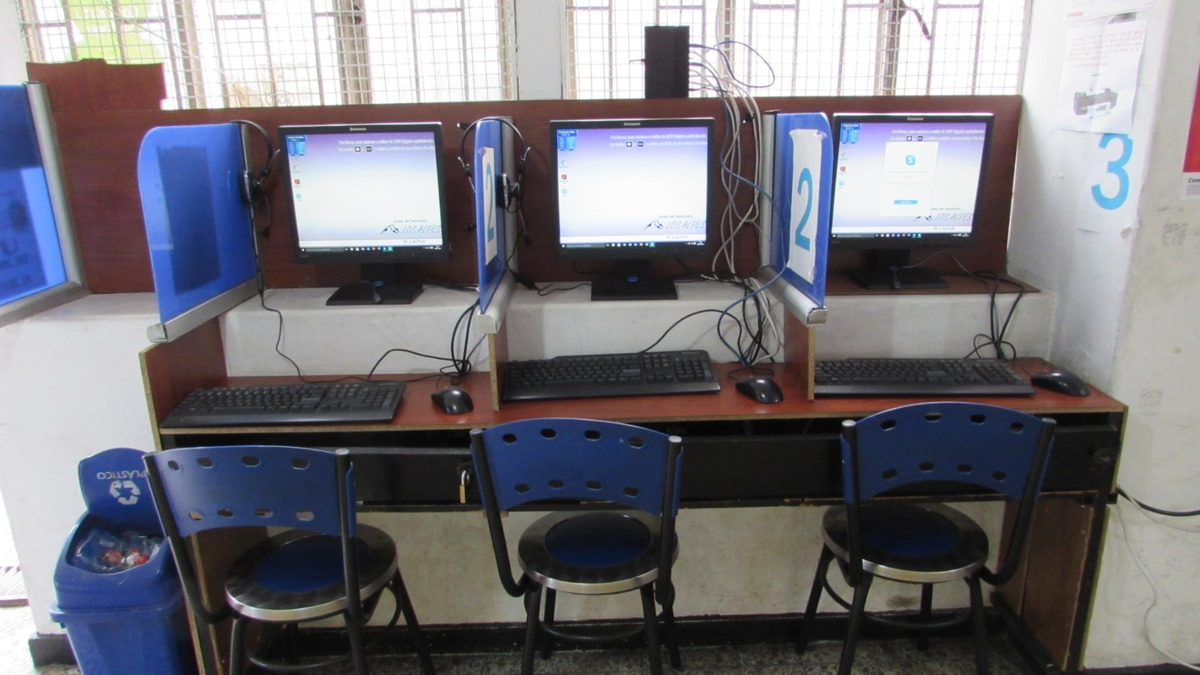 café internet en chapinero, ganga!
