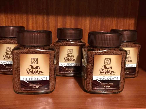 !!!café juan valdez chocolate 95 g, 100% original..!!!