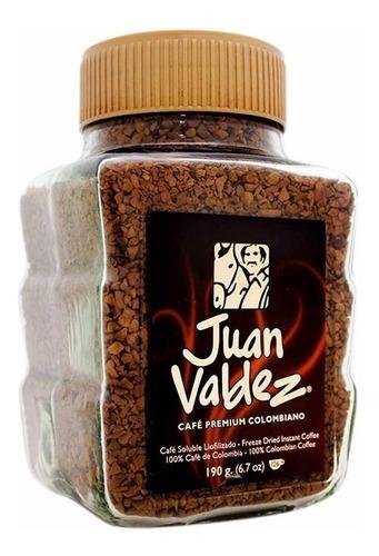 cafe juan valdez liofilizado 190 gr