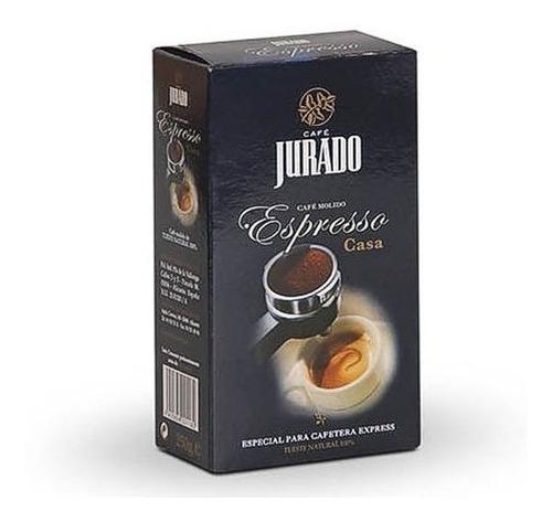 cafe jurado espresso casa 250 gr