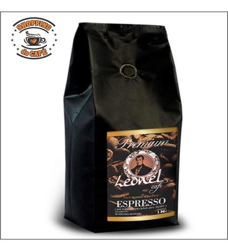 café máquina expresso grãos torrado 24kg gourmet certificado