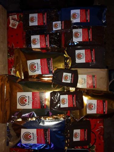 cafe molido y en grano cafe cuezali
