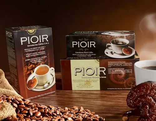 cafe negro con extracto de ganoderma - cafe pioir ganoderma