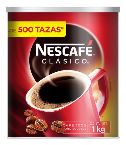 cafe nescafe clasico 1kg lata  (1 pieza)