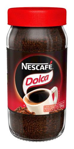 cafe nescafe dolca 170gr (1 pieza)
