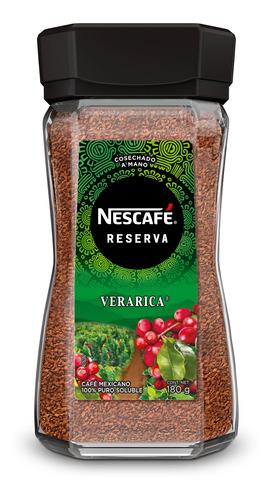 cafe nescafe reserva veracruz 180gr-(1 pieza)
