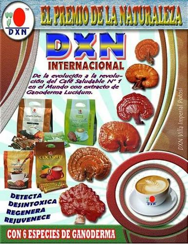 café orgánico con ganoderma dxn