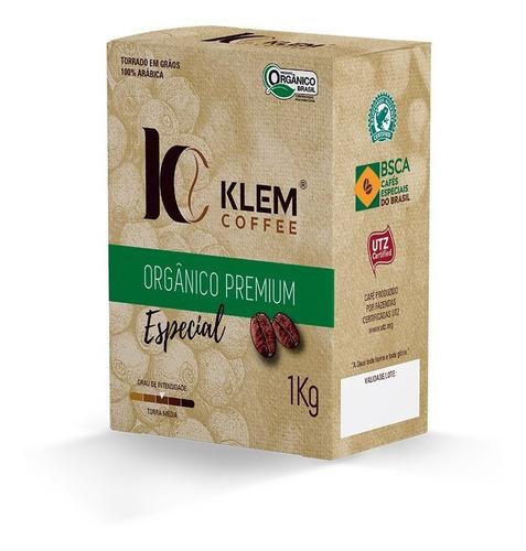 café orgânico especial premium - klem coffee - 1kg