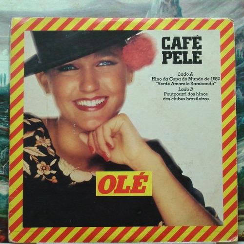 café pelé xuxa  - compacto vinil promocional wea 1982