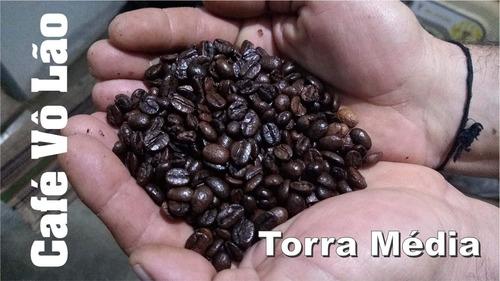 café puro 1kg artesanal torrado e moído direto produtor roça