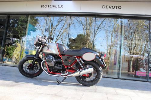 cafe racer moto guzzi v7 ii racer - motoplex devoto