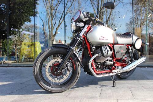 cafe racer moto guzzi v7 racer 0km motoplex devoto