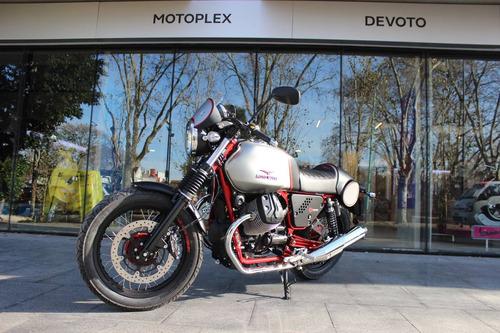 cafe racer moto guzzi v7 racer motoplex devoto