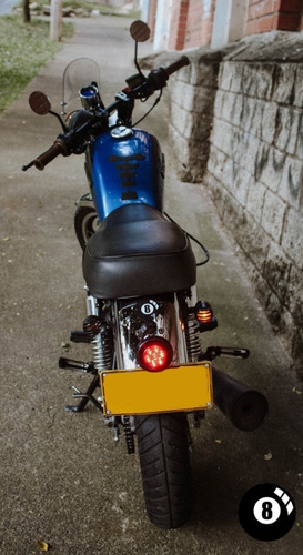 cafe racer stop led scrambler custom