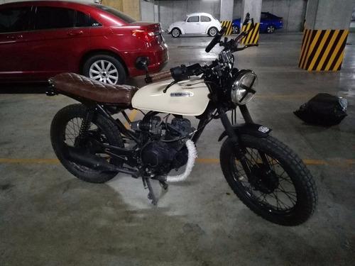 cafe racer yamaha 125 cc