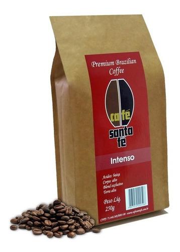 café santa fé intenso em grãos/moído 250 gramas