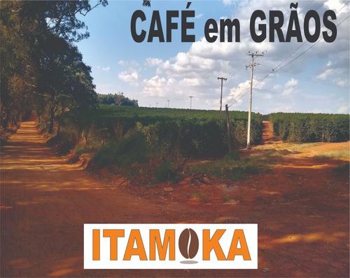 café torrado grãos 15kg  r$27,20/kg promoção sul de mg