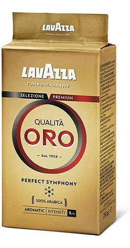 café tostado molido lavazza qualita oro 250g. - italiano