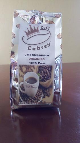 cafe tostado y molido organico de chiapas
