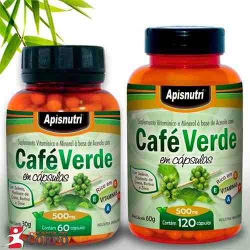 café verde 500mg 120 capsulas apisnutri o melhor