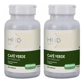 Café Verde Adelgazante 120 Cápsulas Nutrientes Naturales Hnd