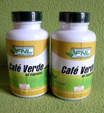 cafe verde, capsulas, 2 frascos, envio gratis