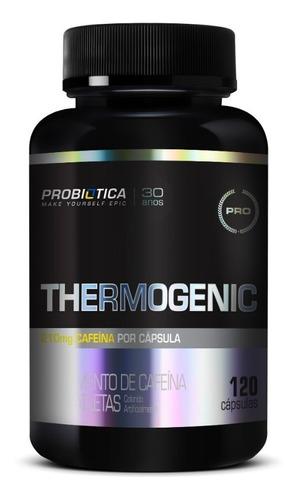 cafeina anidra 400g thermogenic 120caps - probiotica