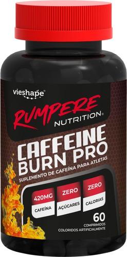 cafeína burn pro 420mg thermogênico 70 unidades vie shape