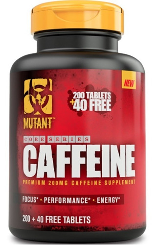 cafeina mutant caffeine (240 tabletas)