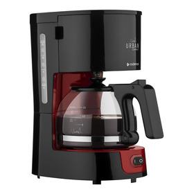 Cafeteira  Cadence Urban Compact Caf300 Preta/vermelha 110v