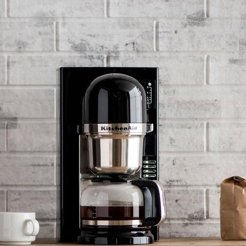 cafeteira automática kitchenaid one-touch onyx black - kxa42