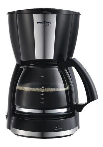 cafeteira britânia inox, 38 cafés - cp 38 110 volts