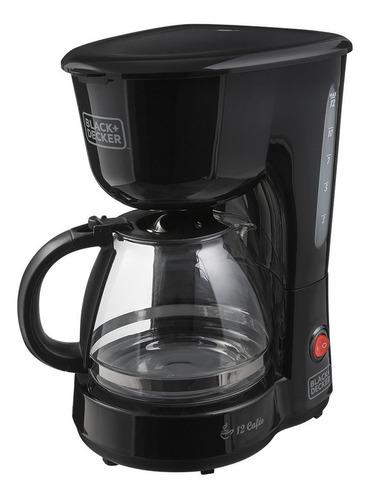 cafeteira elétrica 12 xícaras black+decker - cm120 220v