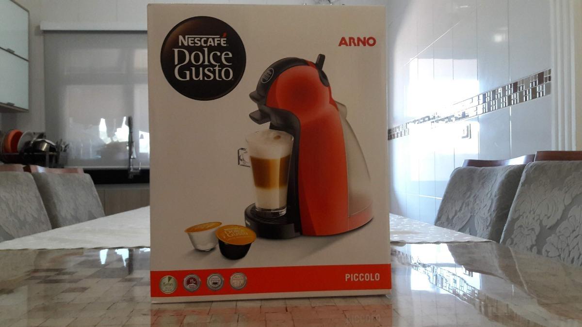 2655d7eb5 cafeteira expresso arno dolce gusto piccolo vermelho - 127v. Carregando zoom .