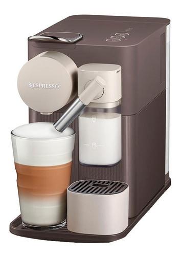 cafeteira expresso latissima one marrom 110v - nespresso