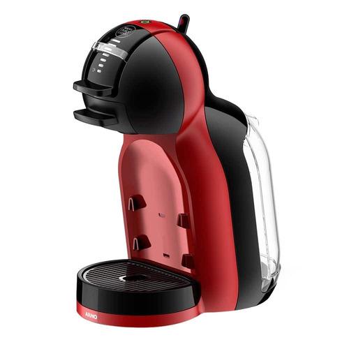 cafeteira expresso mini me preta/vermelha 110v - arno