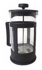 cafeteira francesa prensa cremeira de inox e plastico 350ml