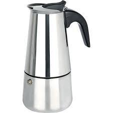 cafeteira italiana em aço inox 4 xícaras - menor preço!!!
