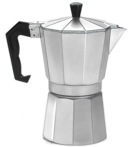 cafeteira italiana em alumínio para 12 cafés super promoção