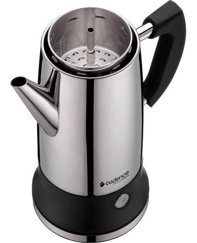 cafeteira italiana inox cadence 220v caf104-220