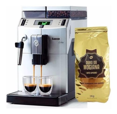 cafeteira philips saeco maquina expresso automática lirika