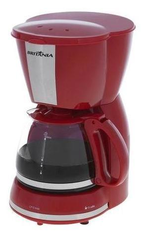 cafeteira vermelha britânia 220v