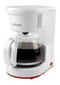 cafetera 8 tazas con filtro permanente black + decker