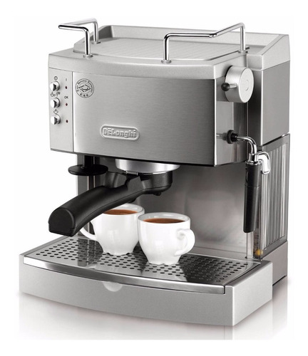 cafetera acero inoxidable delonghi ec702 espresso cappuchino