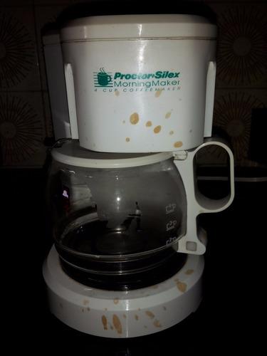 cafetera automática 4 tazas marca proctor-silex importada