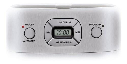 cafetera automática de cuisinart para 10 tazas con molini