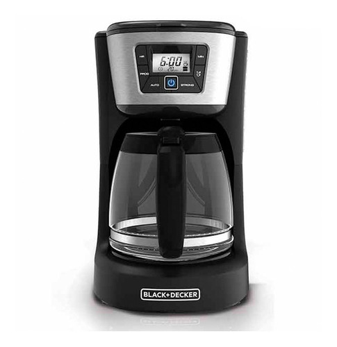 cafetera black and decker programable 12 tazas ref cm2031b