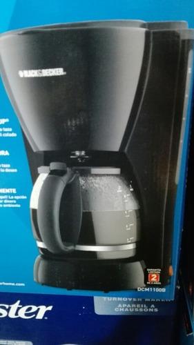 cafetera black & decker 10 tazas negra nueva y original