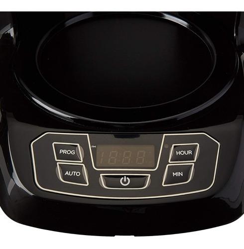 cafetera black&decker 12 tazas negra programable